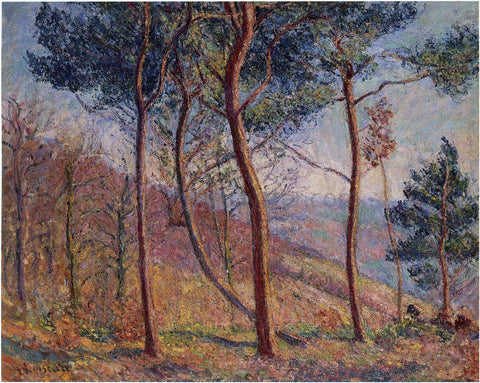 Gustave Loiseau In the Mountains - Hand Painted Oil Painting