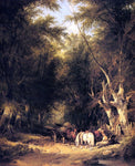 Senior William Shayer In The New Forest - Hand Painted Oil Painting