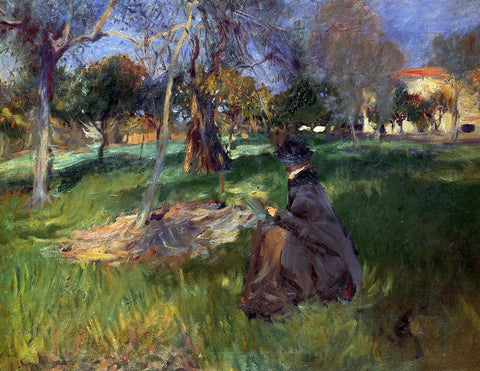 John Singer Sargent In the Orchard - Hand Painted Oil Painting