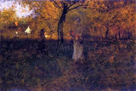 George Inness In the Orchard, Milton - Hand Painted Oil Painting