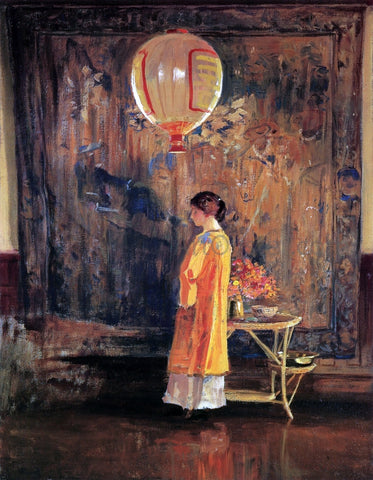 Guy Orlando Rose In the Studio - Hand Painted Oil Painting