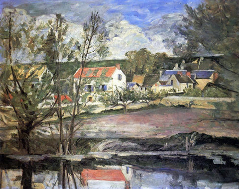 Paul Cezanne In the Valley of the Oise - Hand Painted Oil Painting