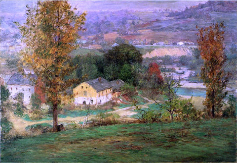 John Ottis Adams In the Whitewater Valley - Hand Painted Oil Painting