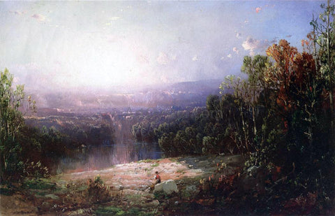 William Louis Sonntag In the Wilderness - Hand Painted Oil Painting