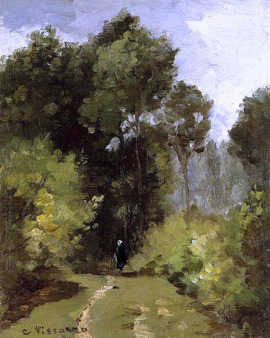 Camille Pissarro In the Woods - Hand Painted Oil Painting