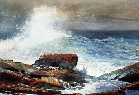 Winslow Homer Incoming Tide - Hand Painted Oil Painting