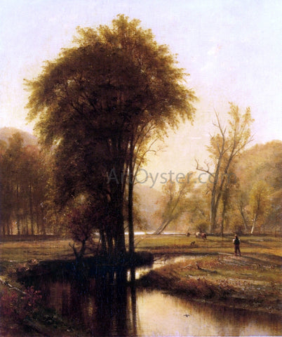 Thomas Worthington Whittredge Indian Summer - Hand Painted Oil Painting