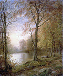 William Trost Richards Indian Summer - Hand Painted Oil Painting