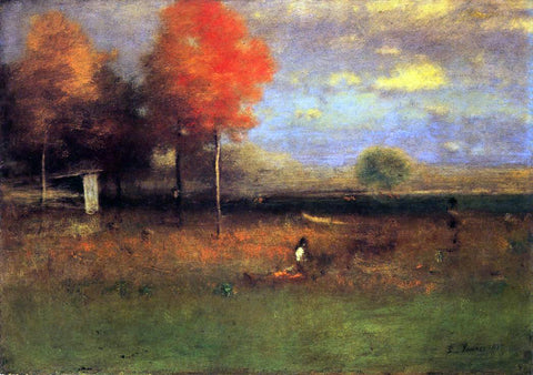 George Inness Indian Summer - Hand Painted Oil Painting