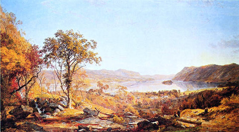 Jasper Francis Cropsey Indian Summer - Hand Painted Oil Painting