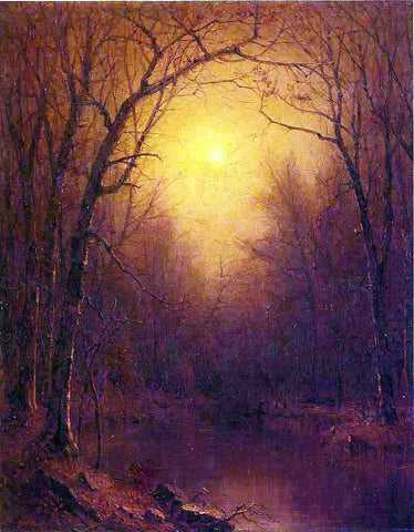 Sanford Robinson Gifford Indian Summer in the Bronx - Hand Painted Oil Painting