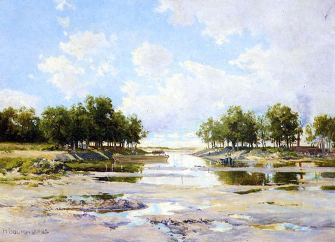 Hugh Bolton Jones Inlet at Low Tide - Hand Painted Oil Painting