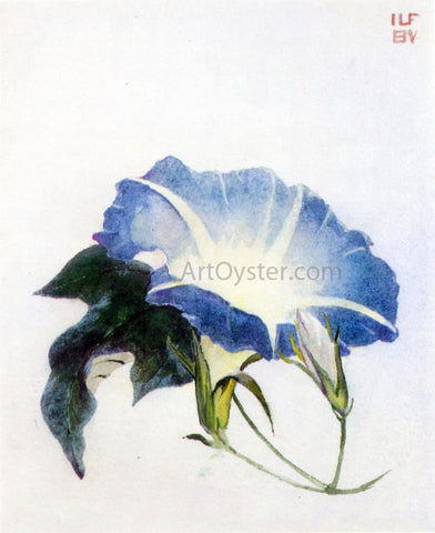 John La Farge Ipomoea (also known as Morning Glory) - Hand Painted Oil Painting