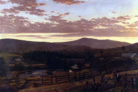 Frederic Edwin Church Ira Mountain, Vermont - Hand Painted Oil Painting