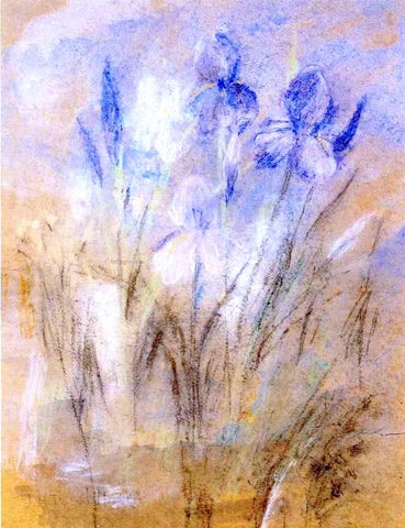 John Twachtman Irises - Hand Painted Oil Painting