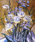 Maria Oakey Dewing Irises and Calla Lilies - Hand Painted Oil Painting