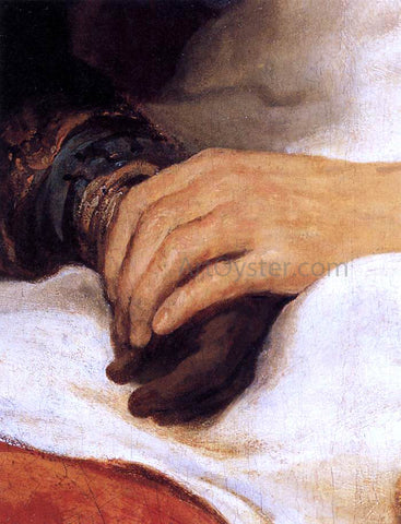 Govert Teunisz Flinck Isaac Blessing Jacob (detail) - Hand Painted Oil Painting