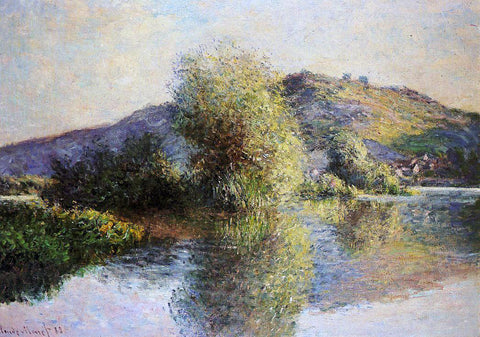 Claude Oscar Monet Islets at Port-Villez - Hand Painted Oil Painting