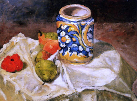 Paul Cezanne Italian Earthenware - Hand Painted Oil Painting