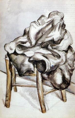 Paul Cezanne Jacket on a Chair - Hand Painted Oil Painting