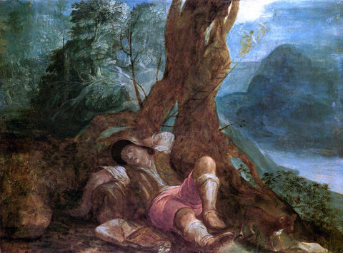 Adam Elsheimer Jacob's Dream - Hand Painted Oil Painting