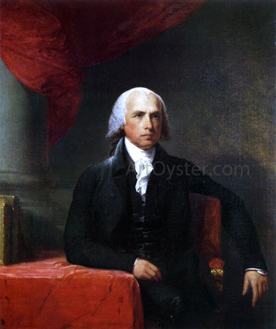 Gilbert Stuart James Madison - Hand Painted Oil Painting