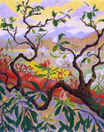 Paul Ranson Japanese Style Landscape - Hand Painted Oil Painting