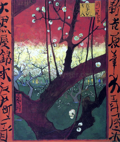 Vincent Van Gogh Japonaiserie (after Hiroshige) - Hand Painted Oil Painting