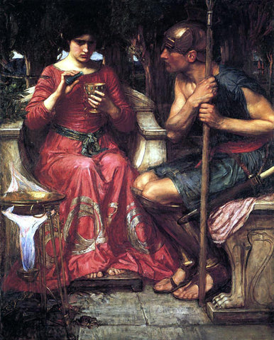 John William Waterhouse Jason and Medea - Hand Painted Oil Painting
