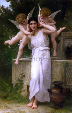 William Adolphe Bouguereau Jeunesse - Hand Painted Oil Painting