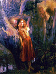 Gaston Bussiere Joan of Arc - Hand Painted Oil Painting