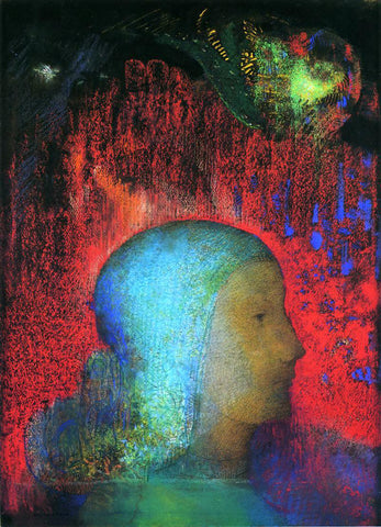Odilon Redon Joan of Arc - Hand Painted Oil Painting