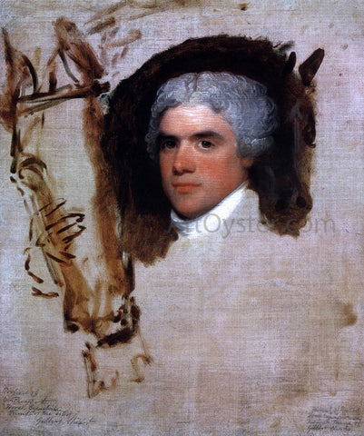 Gilbert Stuart John Bill Ricketts (unfinished) (also known as Breschard, the Circus Rider) - Hand Painted Oil Painting