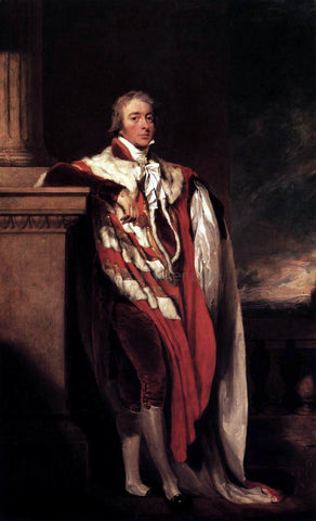 Sir Thomas Lawrence John Fane, Tenth Count of Westmorland - Hand Painted Oil Painting