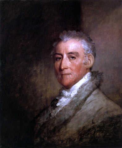 Gilbert Stuart John Trumbull - Hand Painted Oil Painting
