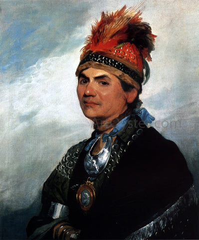 Gilbert Stuart Joseph Brant - Hand Painted Oil Painting