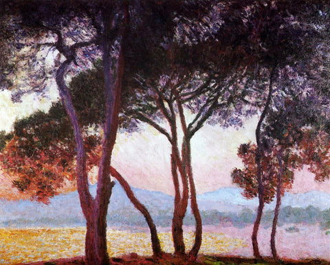 Claude Oscar Monet Juan-les-Pins - Hand Painted Oil Painting