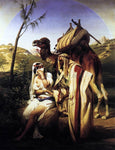 Horace Vernet Judah and Tamar - Hand Painted Oil Painting