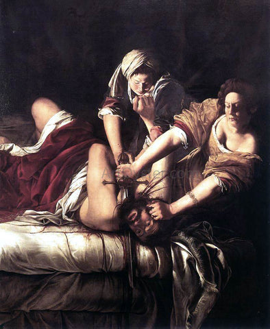 Artemisia Gentileschi Judith Beheading Holofernes - Hand Painted Oil Painting