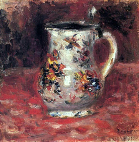 Pierre Auguste Renoir Jug - Hand Painted Oil Painting