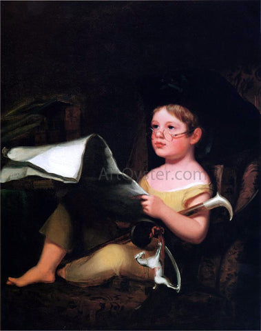 Thomas Sully Juvenile Ambition - Hand Painted Oil Painting