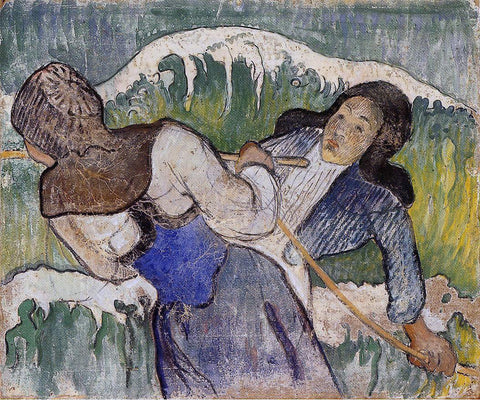 Paul Gauguin Kelp Gatherers - Hand Painted Oil Painting