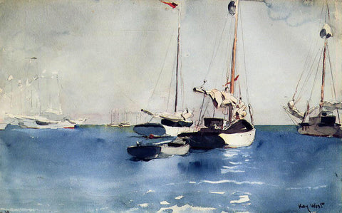Winslow Homer Key West - Hand Painted Oil Painting