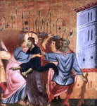 Guido Da siena Kiss of Judas - Hand Painted Oil Painting