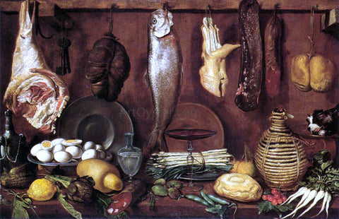 Jacopo Da empoli Kitchen Still-Life - Hand Painted Oil Painting