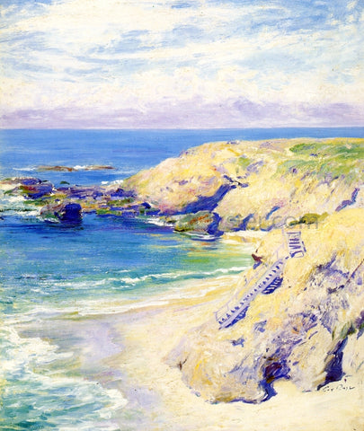 Guy Orlando Rose La Jolla Cove - Hand Painted Oil Painting