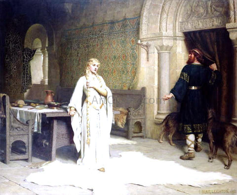 Edmund Blair Leighton Lady Godiva - Hand Painted Oil Painting