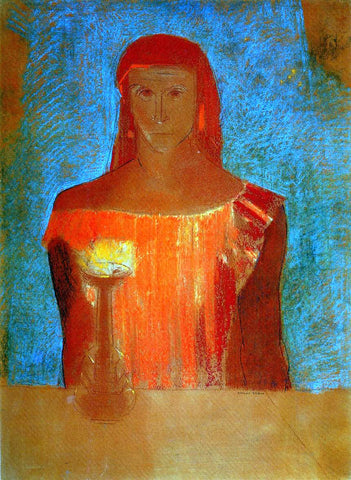 Odilon Redon Lady Macbeth - Hand Painted Oil Painting