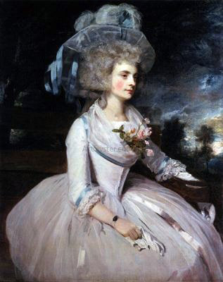 Sir Joshua Reynolds Lady Skipwith - Hand Painted Oil Painting