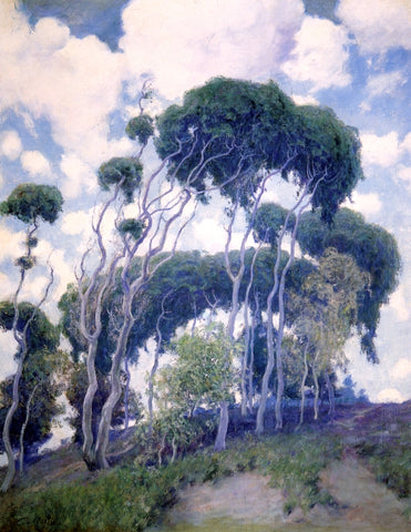 Guy Orlando Rose Laguna Eucalyptus - Hand Painted Oil Painting